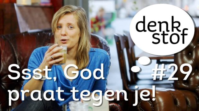Pinksteren: ssst, God praat tegen je… – Denkstof seizoen 2 aflevering 14