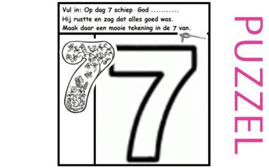 Puzzel – Genesis 1 – Schepping 14
