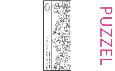 Puzzel – Genesis 1 – Schepping 15