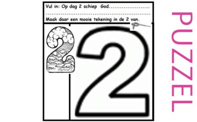 Puzzel – Genesis 1 – Schepping 8