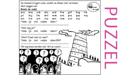 Puzzel – Genesis 11 – de torenbouw van Babel 4