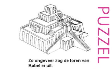 Puzzel – Genesis 11 – de torenbouw van Babel 5