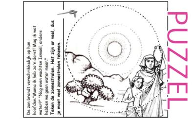 Puzzel – Genesis 12, 15, 16, 21 – Abram, Abraham, Sarai, Sara, Hagar, Ismael 13
