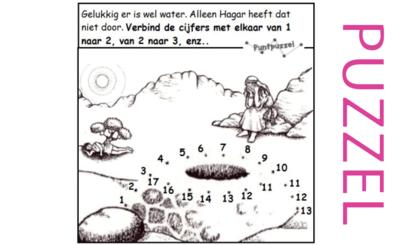 Puzzel – Genesis 12, 15, 16, 21 – Abram, Abraham, Sarai, Sara, Hagar, Ismael 17