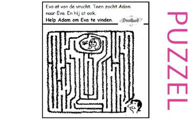 Puzzel – Genesis 3 – Zondeval 7