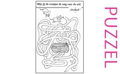 Puzzel – Genesis 6, 7, 8, 9, 10 – Noach 12