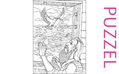 Puzzel – Genesis 6, 7, 8, 9, 10 – Noach 13