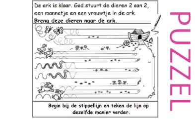 Puzzel – Genesis 6, 7, 8, 9, 10 – Noach 2