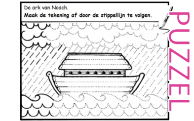 Puzzel – Genesis 6, 7, 8, 9, 10 – Noach 3