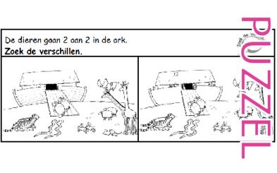 Puzzel – Genesis 6, 7, 8, 9, 10 – Noach 4