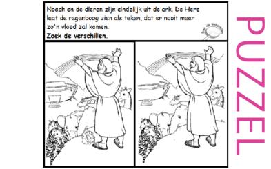 Puzzel – Genesis 6, 7, 8, 9, 10 – Noach 8