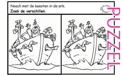 Puzzel – Genesis 6, 7, 8, 9, 10 – Noach 9