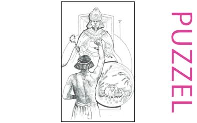 Puzzel – Genesis 39, 40, 41, 42, 43, 44, 45, 46 – Jozef, gevangenis, farao, droom, broers, Jakob 12