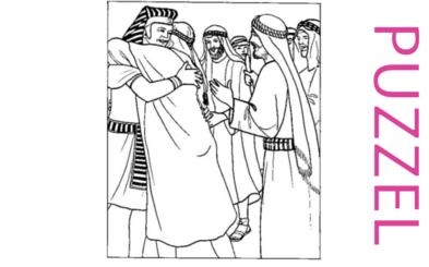 Puzzel – Genesis 39, 40, 41, 42, 43, 44, 45, 46 – Jozef, gevangenis, farao, droom, broers, Jakob 13