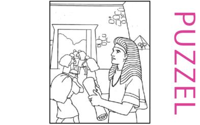 Puzzel – Genesis 39, 40, 41, 42, 43, 44, 45, 46 – Jozef, gevangenis, farao, droom, broers, Jakob 14