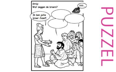 Puzzel – Genesis 39, 40, 41, 42, 43, 44, 45, 46 – Jozef, gevangenis, farao, droom, broers, Jakob 15