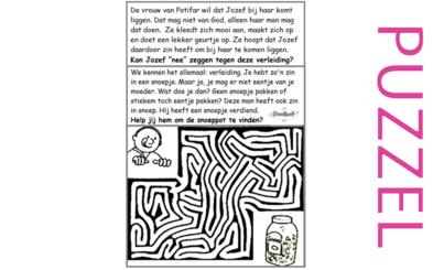 Puzzel – Genesis 39, 40, 41, 42, 43, 44, 45, 46 – Jozef, gevangenis, farao, droom, broers, Jakob 1