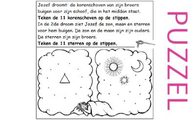 Puzzel – Genesis 37 – Jozef, dromen, Egypte 2