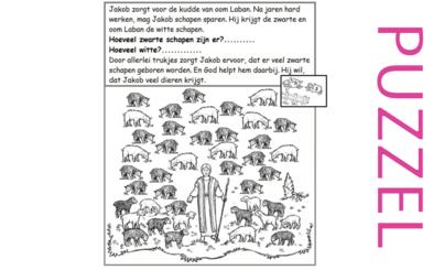 Puzzel – Genesis 29, 30 – Jakob, Rachel, Lea, kinderen 3