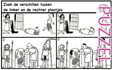 Puzzel – Genesis 39, 40, 41, 42, 43, 44, 45, 46 – Jozef, gevangenis, farao, droom, broers, Jakob 3