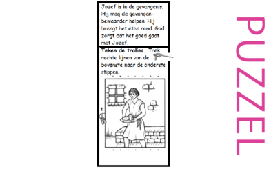 Puzzel – Genesis 39, 40, 41, 42, 43, 44, 45, 46 – Jozef, gevangenis, farao, droom, broers, Jakob 4