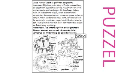 Puzzel – Genesis 37 – Jozef, dromen, Egypte 4