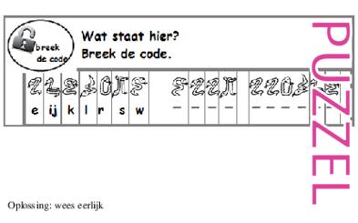 Puzzel – Exodus 19, 20, 24, 32, 33, 34 – Mozes, woestijn, wet, gouden kalf 8
