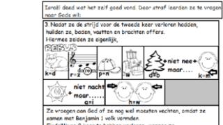 Puzzel – Rechters 19 t/m 21 – Leviet, Benjamin, net als Sodom 5, schande in Israël, straf niet meer nodig
