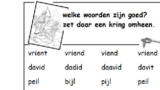 Puzzel – 1 Samuel 18, 19, 20 – David en Jonathan, Jonatan, vrienden, plan pijl 14