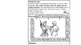 Puzzel – 1 Samuel 18, 19, 20 – David, Jonathan, Jonatan, plan pijl 17