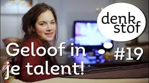 Geloof in je eigen talent – Denkstof seizoen 2 aflevering 4