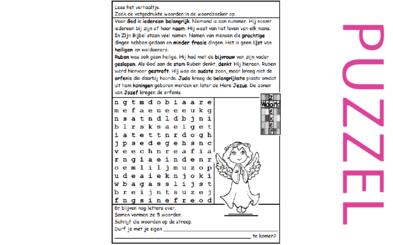 Puzzel – 1 Kronieken 5, Genesis 35, 49 – geslachtsregister, zegen Jakob 10
