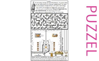 Puzzel – Leviticus 23, 1 Koningen 7, 2 Kronieken 4 – indeling tempel
