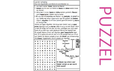 Puzzel – Leviticus 10, 1 Samuël 2, 3, 1 Koningen 2 – Eli, hogepriester Abjathar gestraft