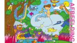 Bijbelse afbeeldingen en kleurplaten – Genesis 1 – Schepping, paradijs, vreugde, Adam, dieren