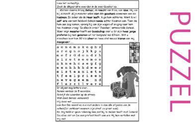 Puzzel – 2 Koningen 5 – Elisa, Naäman, Gehazi , God anders als afgod