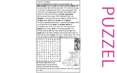 Puzzel – 2 Koningen 6 – Elisa, drijvende bijl, klein probleem God helpt