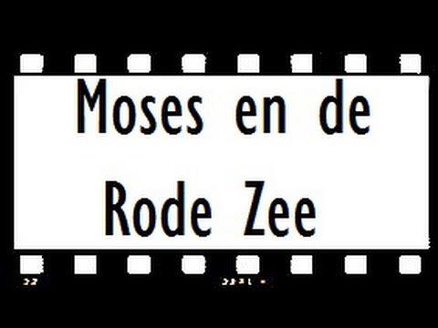 Mozes en de rode zee