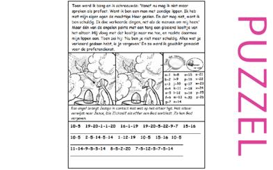Puzzel – Jesaja 6 – Jesaja, droom, geschikt gemaakt als profeet