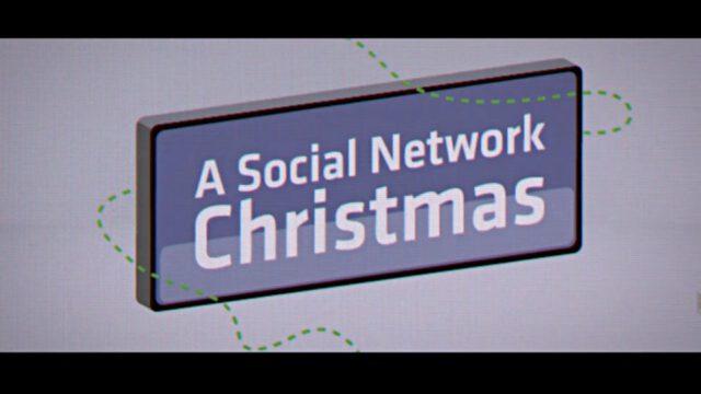 Social network Christmas