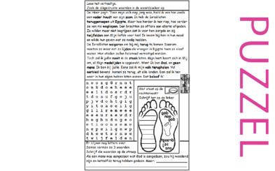 Puzzel – Hosea 11 – God straft, belofte
