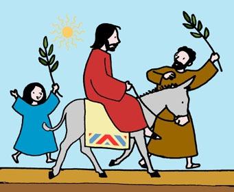 Bijbelleesrooster voor kinderen vanaf palmzondag tot Pasen