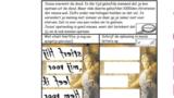 Puzzel –  Johannes 20 – Pasen, het paasevangelie (3), zie filmpjes paasdossier