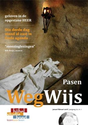 Bijbelstudiemagazine WegWijs over Pasen