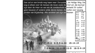 Puzzel – Jesaja 35, Rechters 14, 1 Koningen 13, Openbaringen 21 – belofte nieuwe hemel en aarde