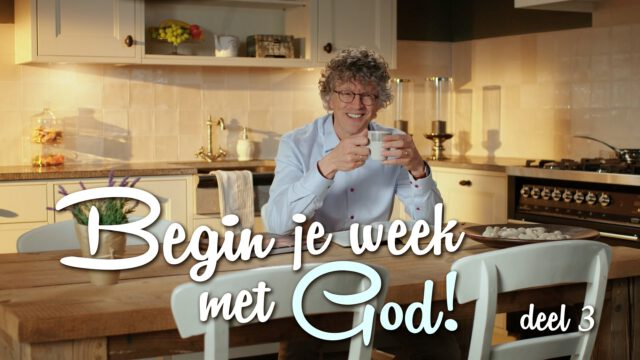 Begin je week met God! – 'Onverschilligheid'