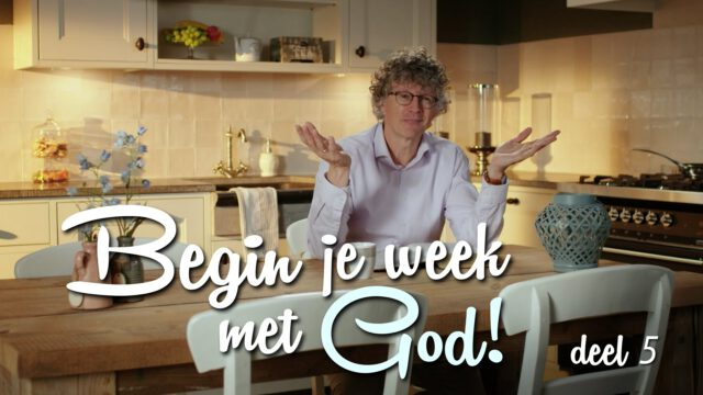 Begin je week met God! – 'Passie'
