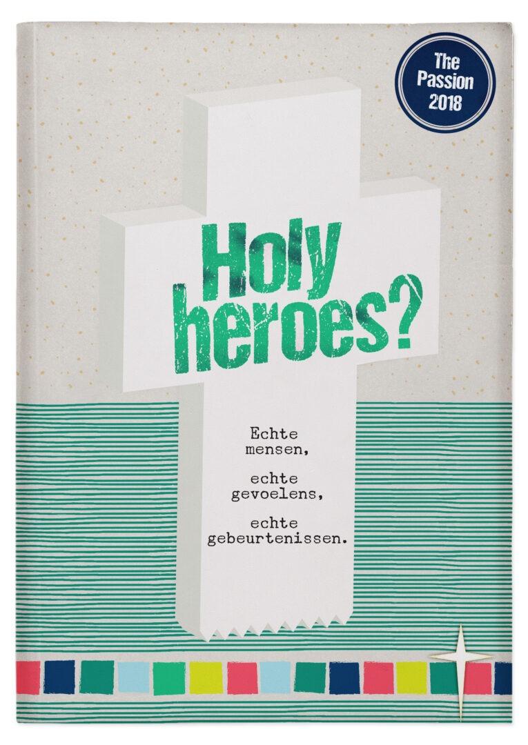 Holy Heroes? gratis beschikbaar voor kerken met een programma rond 'The Passion 2018'
