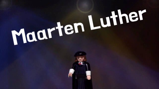 Luther Playmobil 95 stellingen