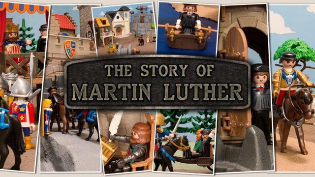 Het verhaal van Maarten Luther (playmobil Animatie)